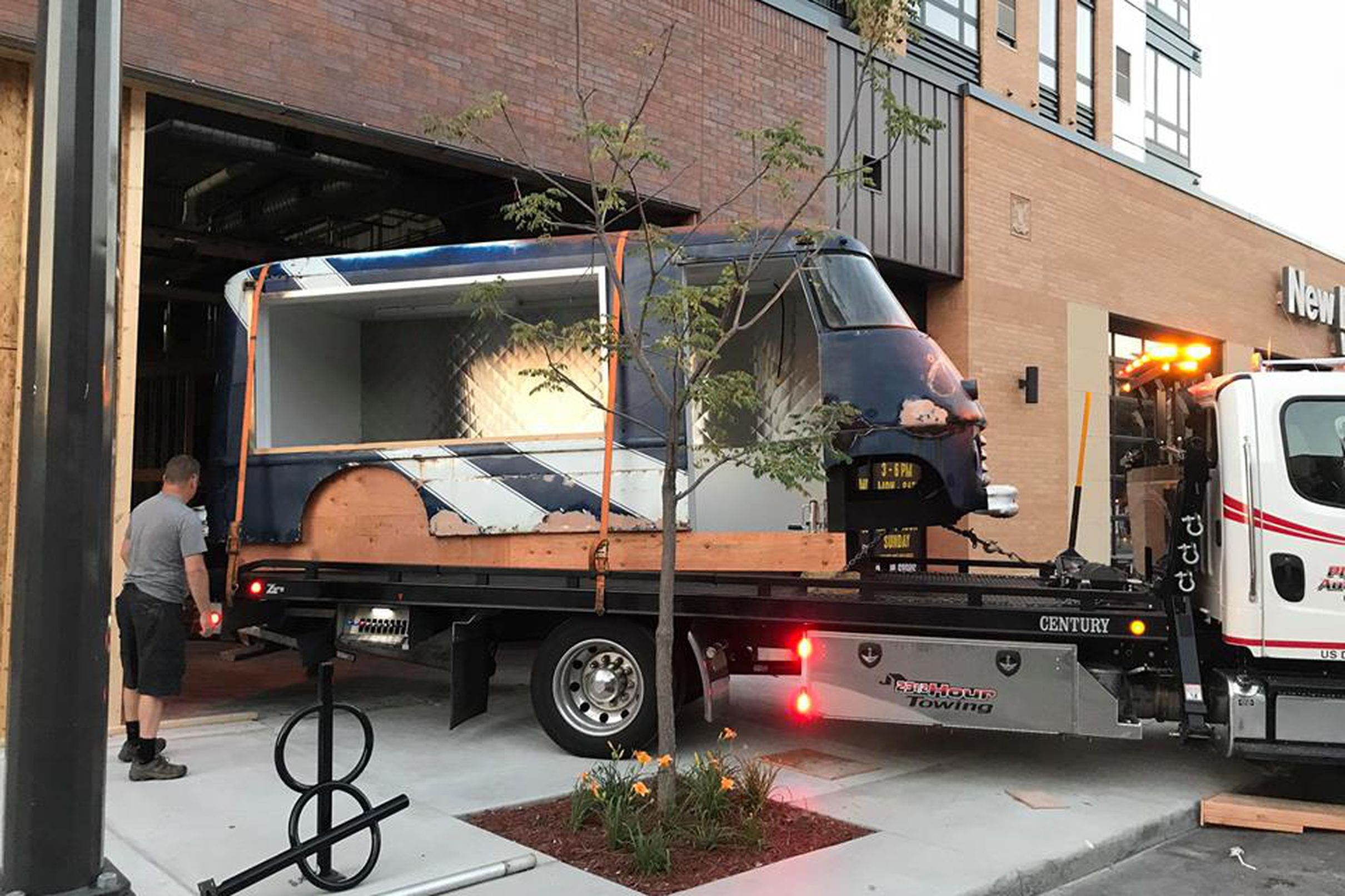 Campsitestyled food truck court announces opening date
