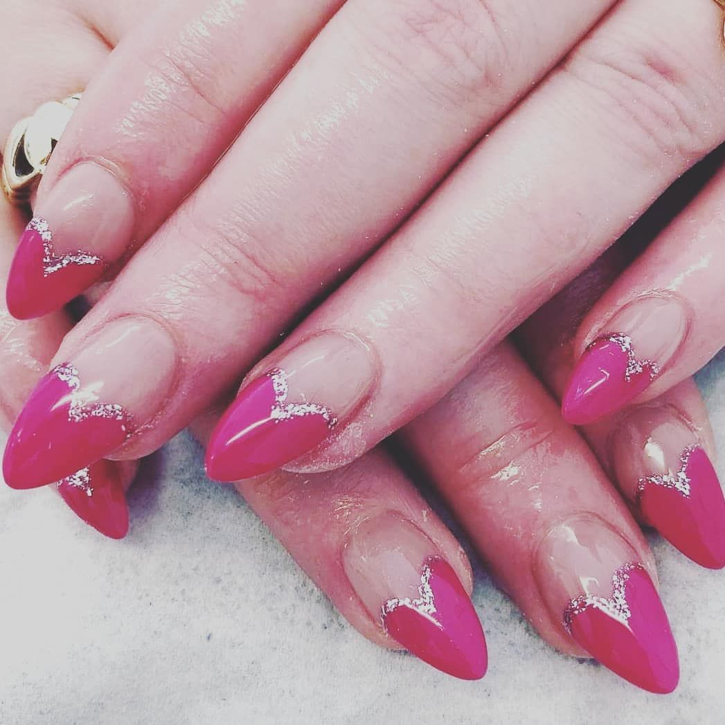 60+ Impressive French Nail Art Ideas For Summer   French nail art ...