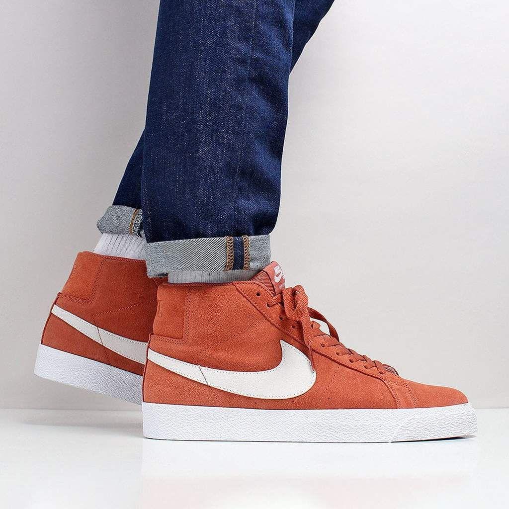 Nike SB Zoom Blazer Mid Shoes - Dusty