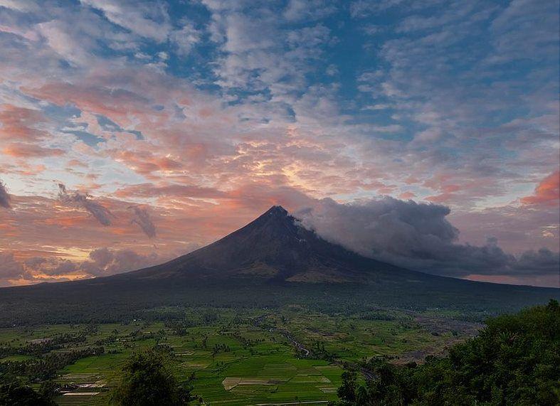 Mayon Volcano, Lesgazpi, Philipines.  Photo copyright Norman P. Aquino