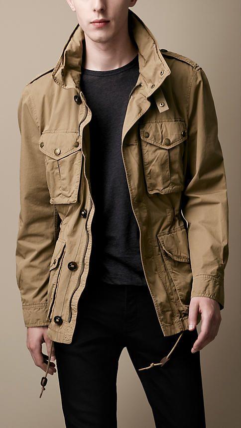 manteaux vestes pour homme burberry treillis vestes. Black Bedroom Furniture Sets. Home Design Ideas