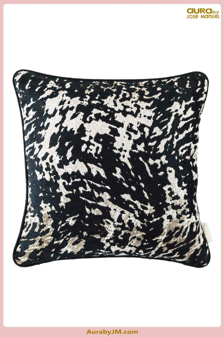 AurabyJM Luxury Textured Jacquard Chenille Cushion Available with