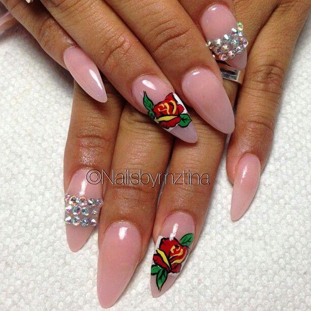 Nails By: Mz Tina   Flower nails, Nail designs, Nail games