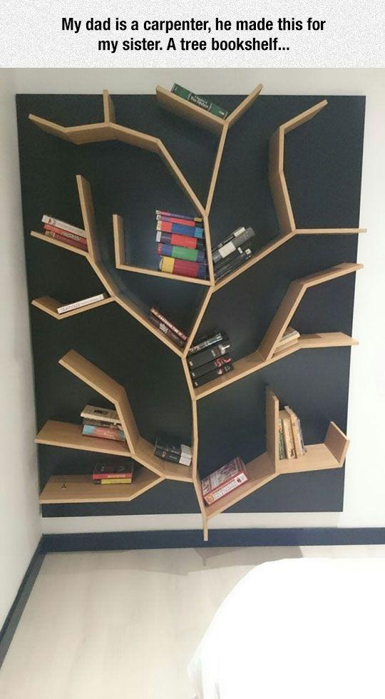 High Quality Tree Bookshelf Good Looking