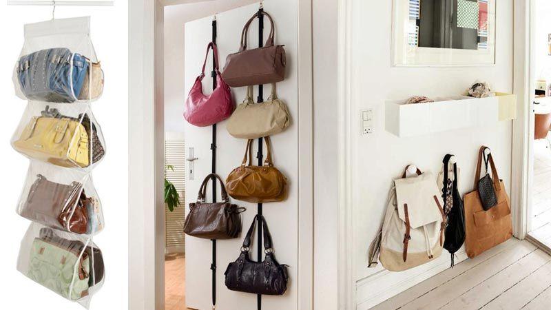 Ideas para almacenar los bolsos en casa   Hogar   Pinterest   En ...