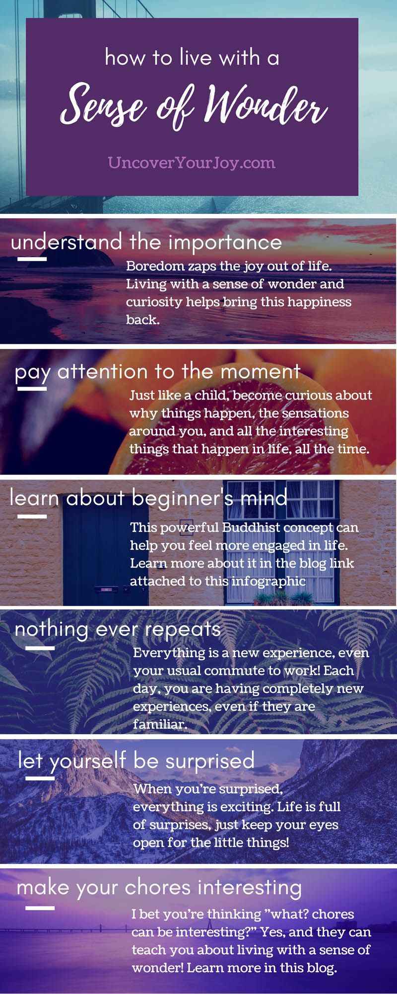 10Ways toGet Away from ItAll and Feel the Wonder ofLife