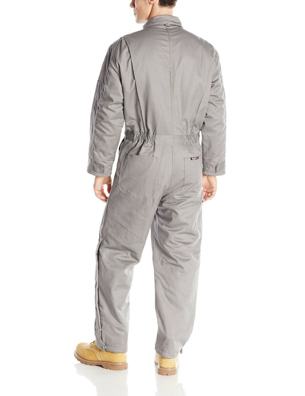 walls men s flame resistant insulated coverall gray tall on walls coveralls id=63069