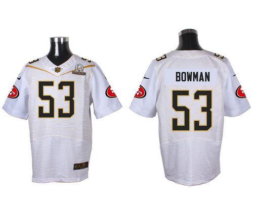 navorro bowman stitched jersey