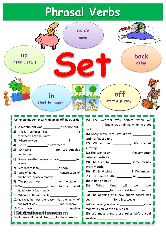 hight resolution of Phrasal verbs Set   English prepositions
