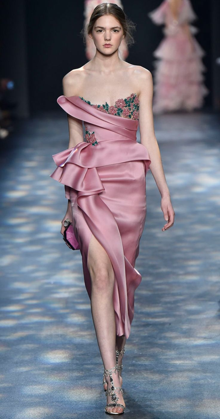 Marchesa Fall Winter 2016 | My fashion | Pinterest | Vestiditos ...