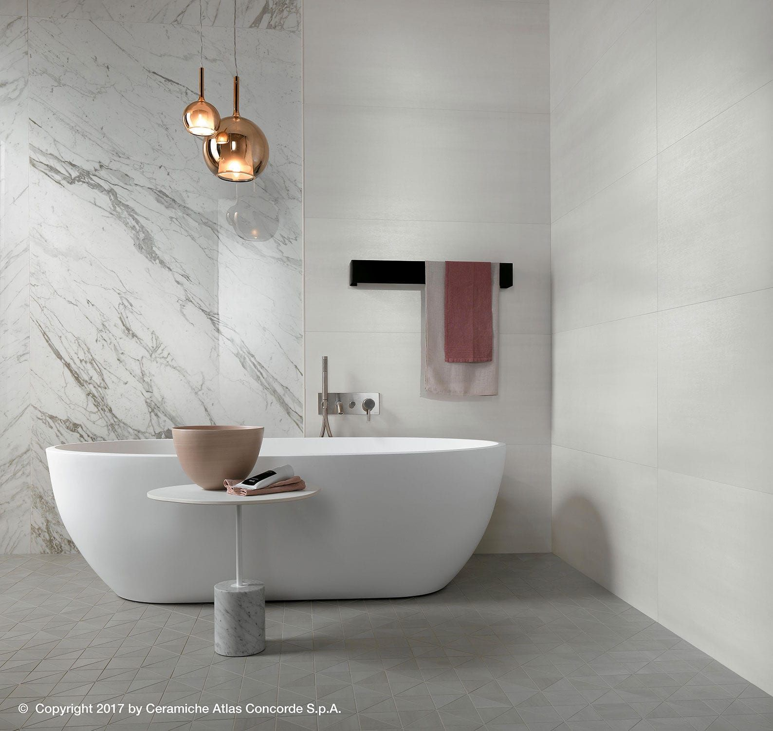 Wall Tile Ceramic Matte Concrete Look Mek Wall Atlas