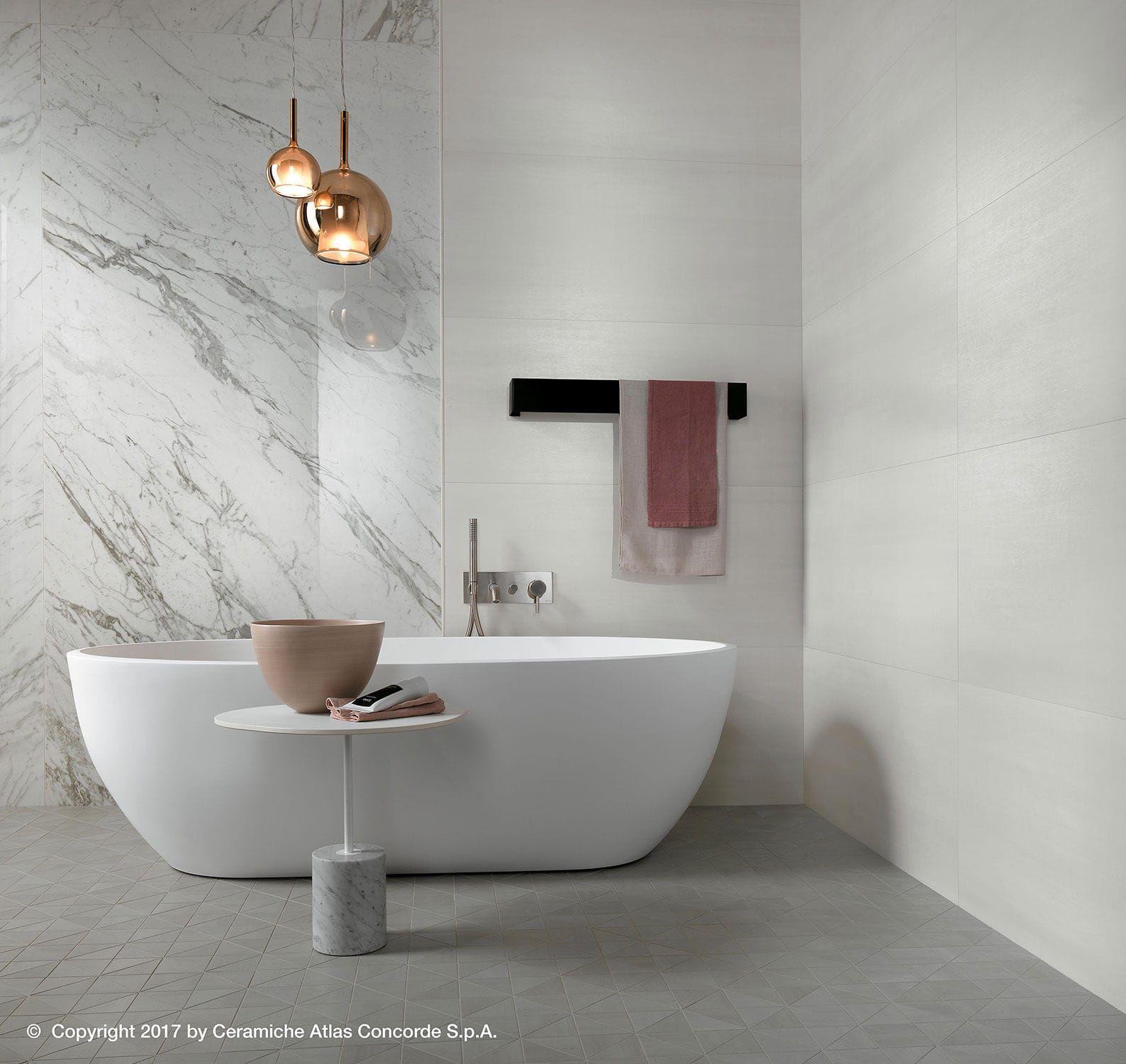 Wall Tile Ceramic Matte Concrete Look Mek Wall Atlas Concorde Bathroom Concrete Floor Polished Porcelain Tiles Concrete Wall Panels