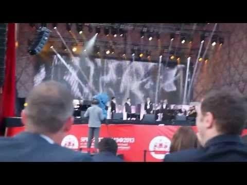 Il Divo en San Petersburgo en el Foro Económico Internacional. A mi manera! - YouTube