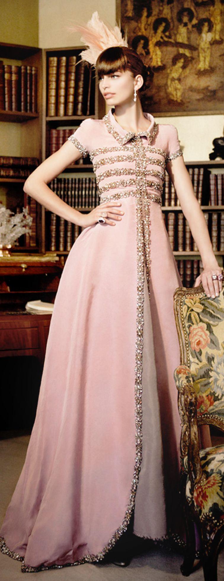 An Enchanted Evening- Chanel~ #LadyLuxuryDesigns | Vestido coctel ...