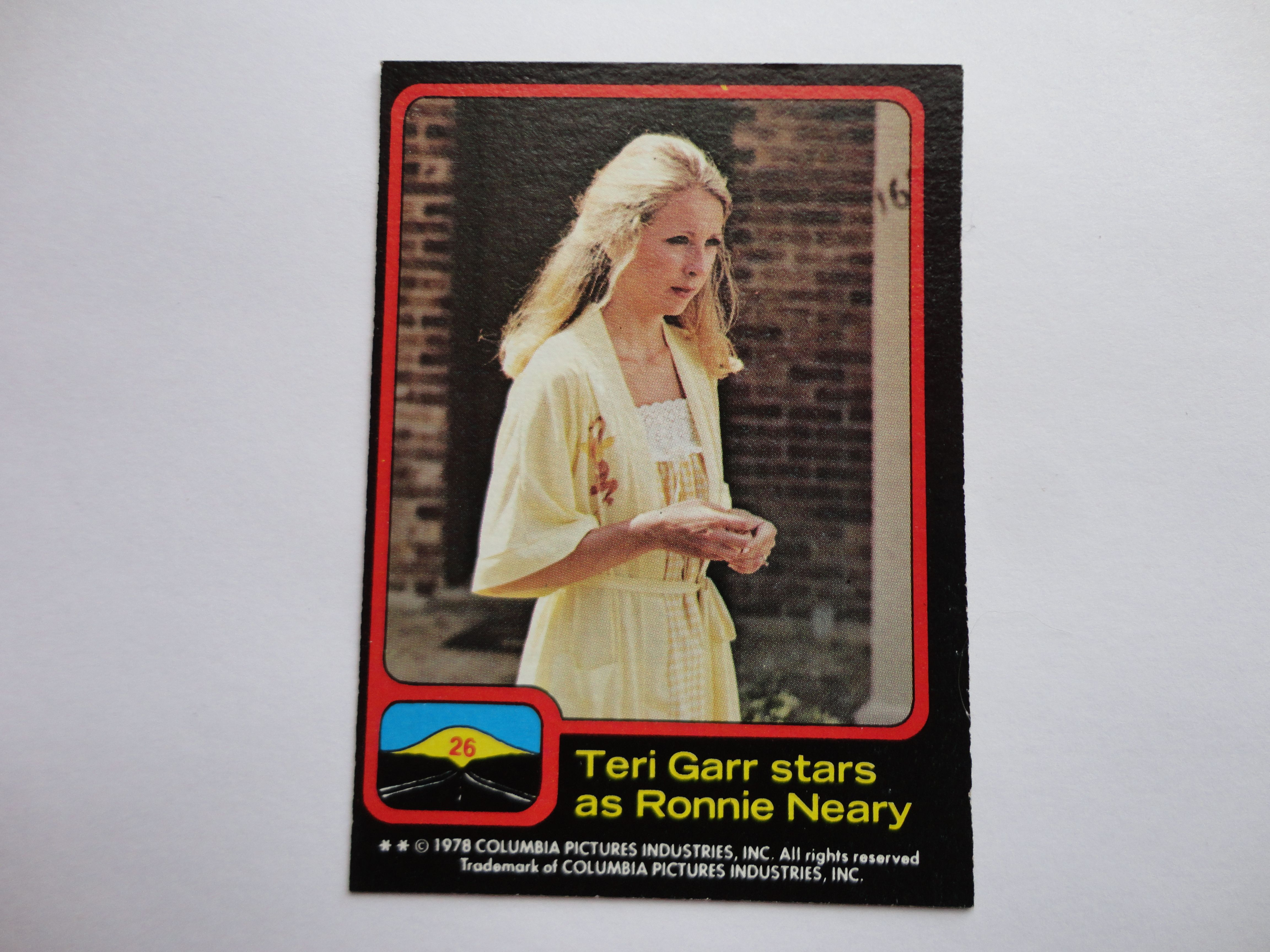 # 26 Close Encounters Of The Third Kind Card Collection 1978