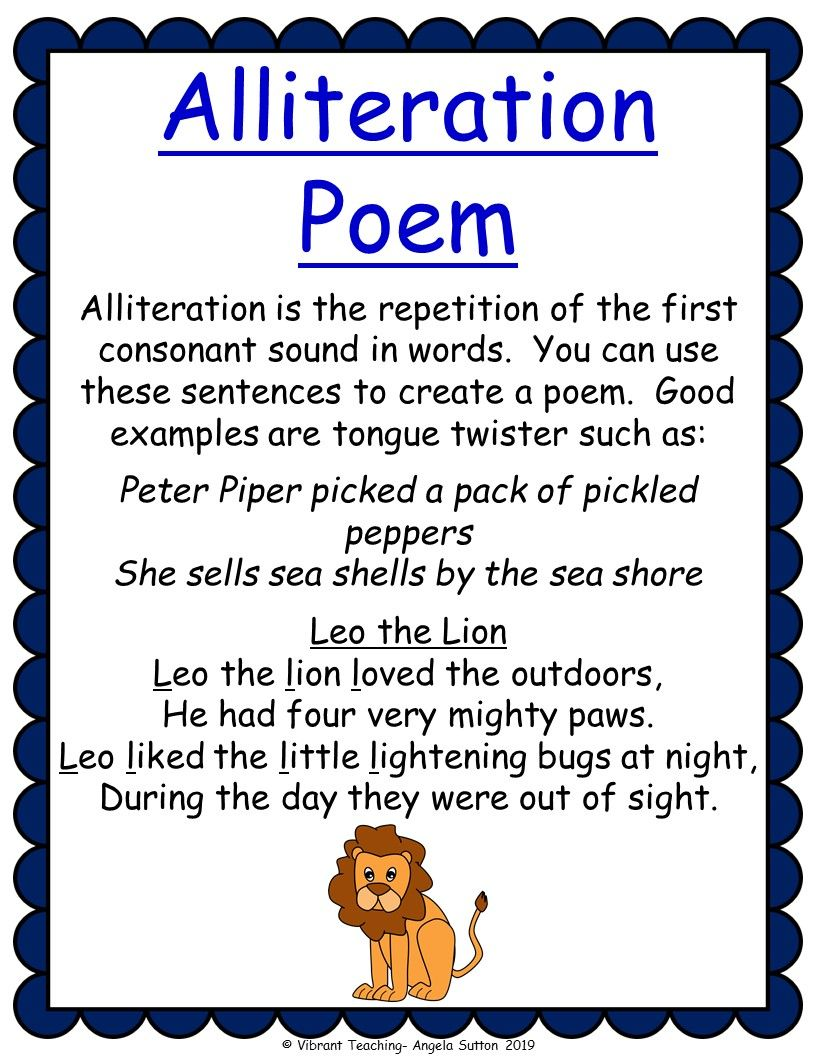 Types of Poems for Kids to Read and Write - Vibrant Teaching