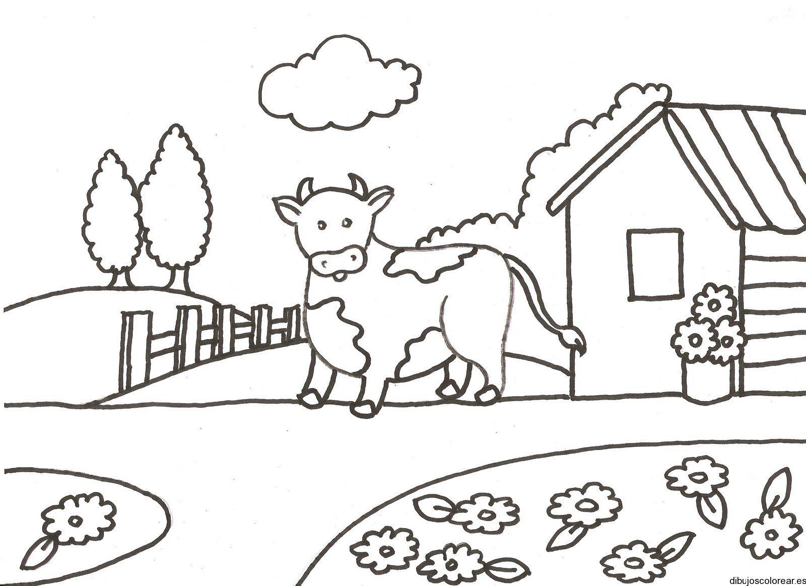 Animales Terrestres Y Paisajes Para Colorear Pintar Imagenes