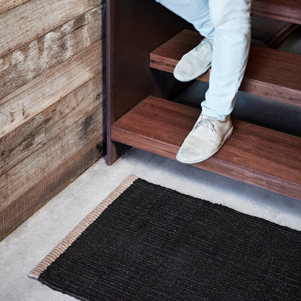 Our Nest Entrance Mats handwoven from 100% hemp | armadillo-co.com