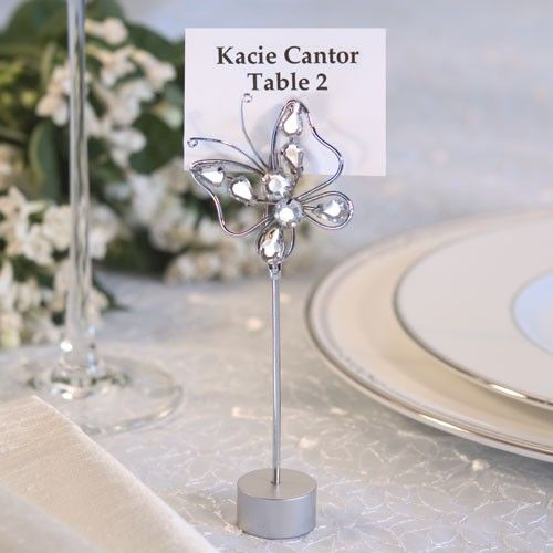 Butterfly themed wedding favours. Transform the room into a ...