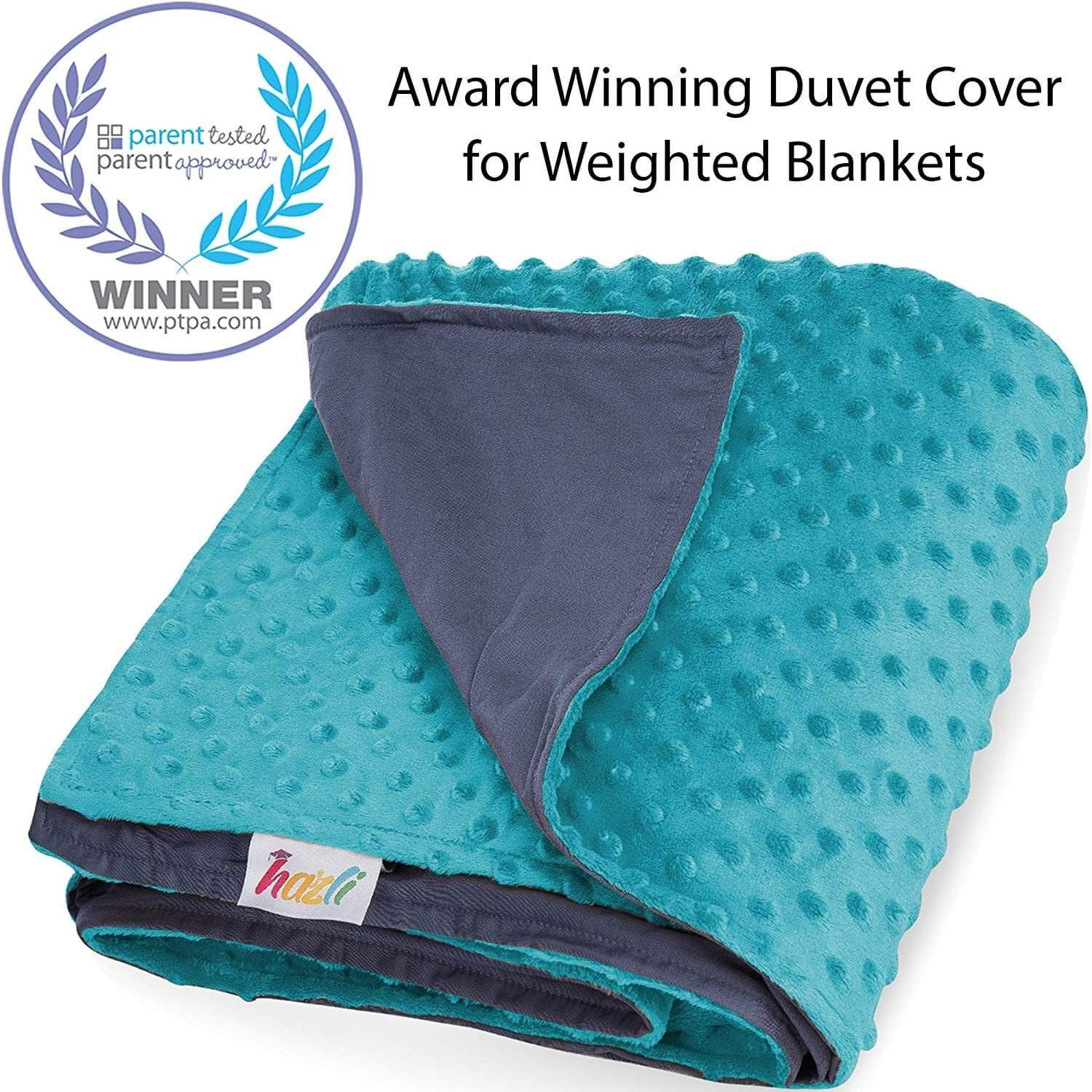Amazon Com Duvet Cover For Weighted Blanket 48 X 72 Cooling