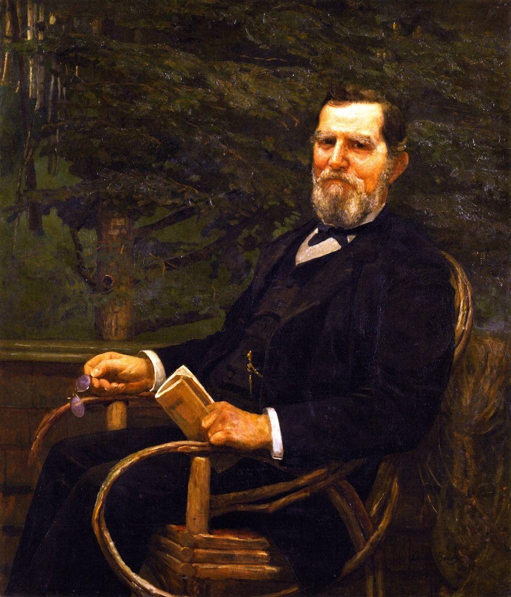 George Burnham (Cecilia Beaux - 1887 )