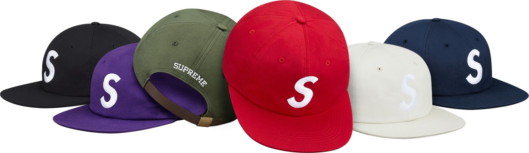 S logo 6-panel. Any colour except purple if possible. Will only be able to  buy on ebay for exhorbant prices so probs avoid this one but it s the type  of hat ... d79aefa850f