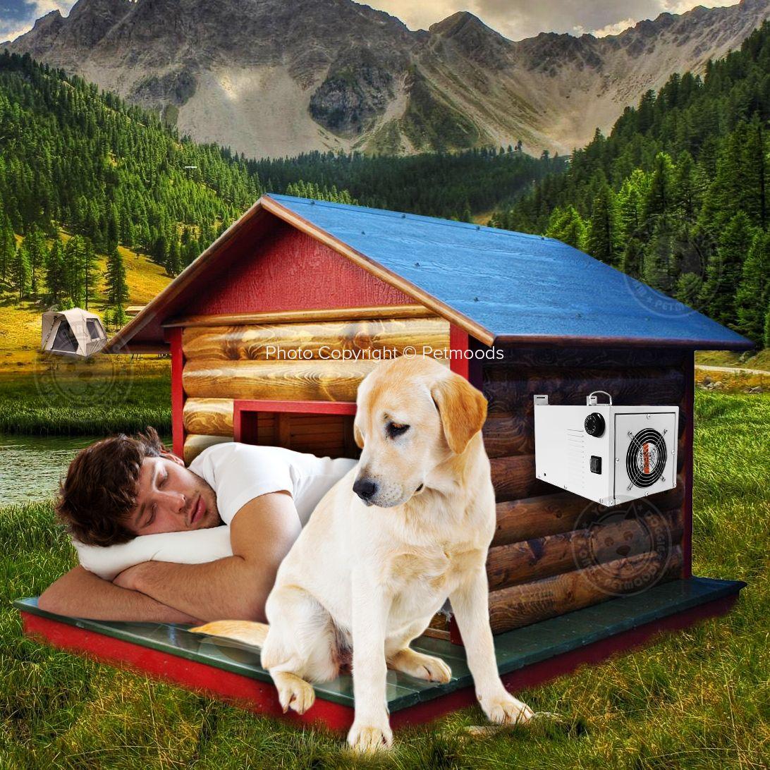 Hounditioner Dog House Air Conditioner Pet A C Unit By Akoma Dog House Air Conditioner Dog House House Air Conditioner