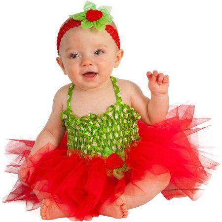Strawberry Infant Tutu Dress Halloween Costume, Infant Girl\u0027s, Size - halloween costume ideas for infants
