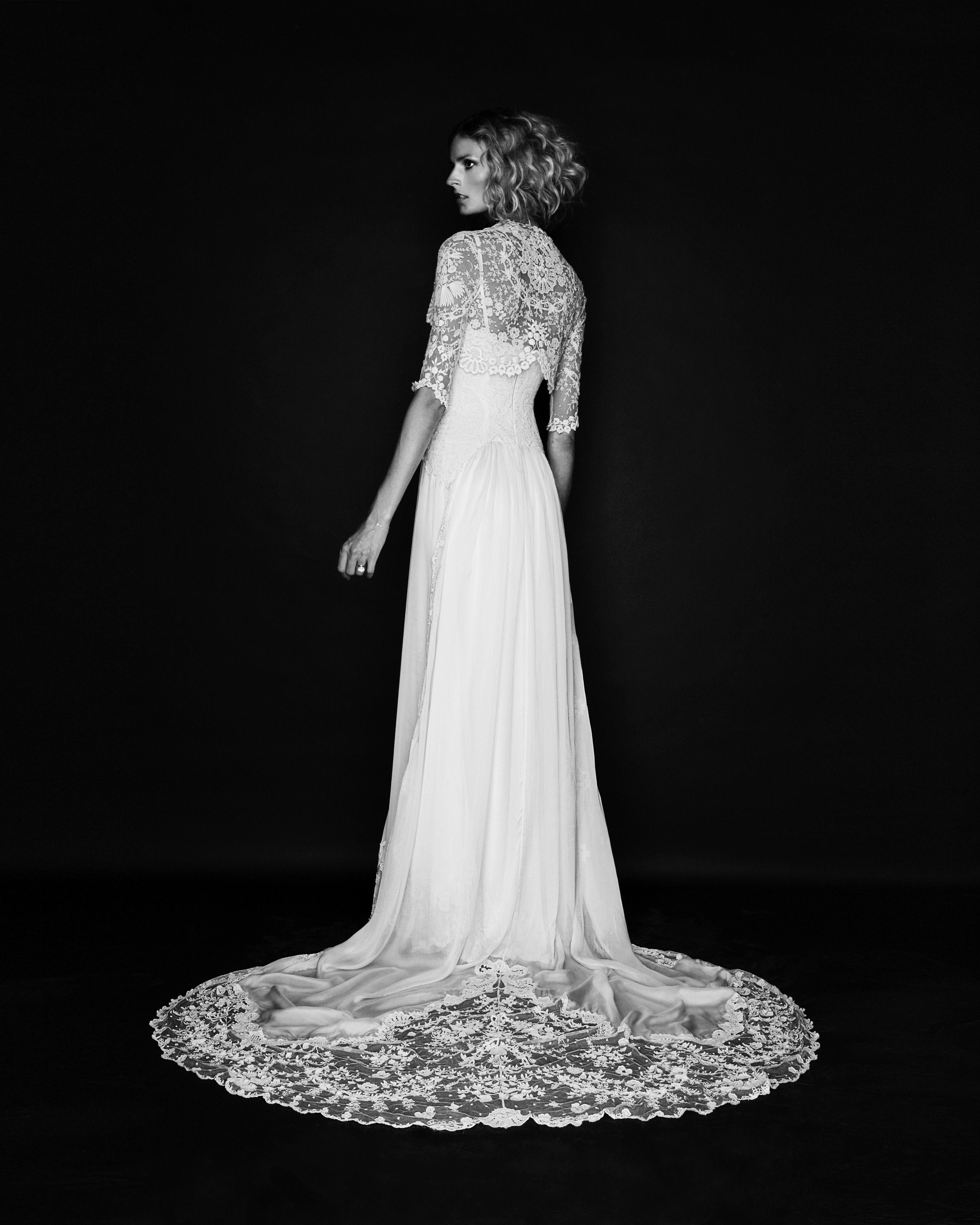 Jacquetta Wheeler In Bespoke Temperley Bridal