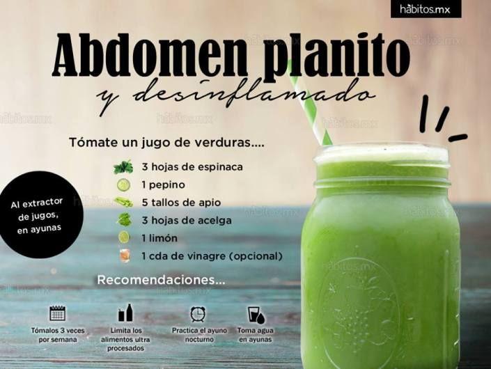 mejores alimentos y bebidas para perder grasa abdominal