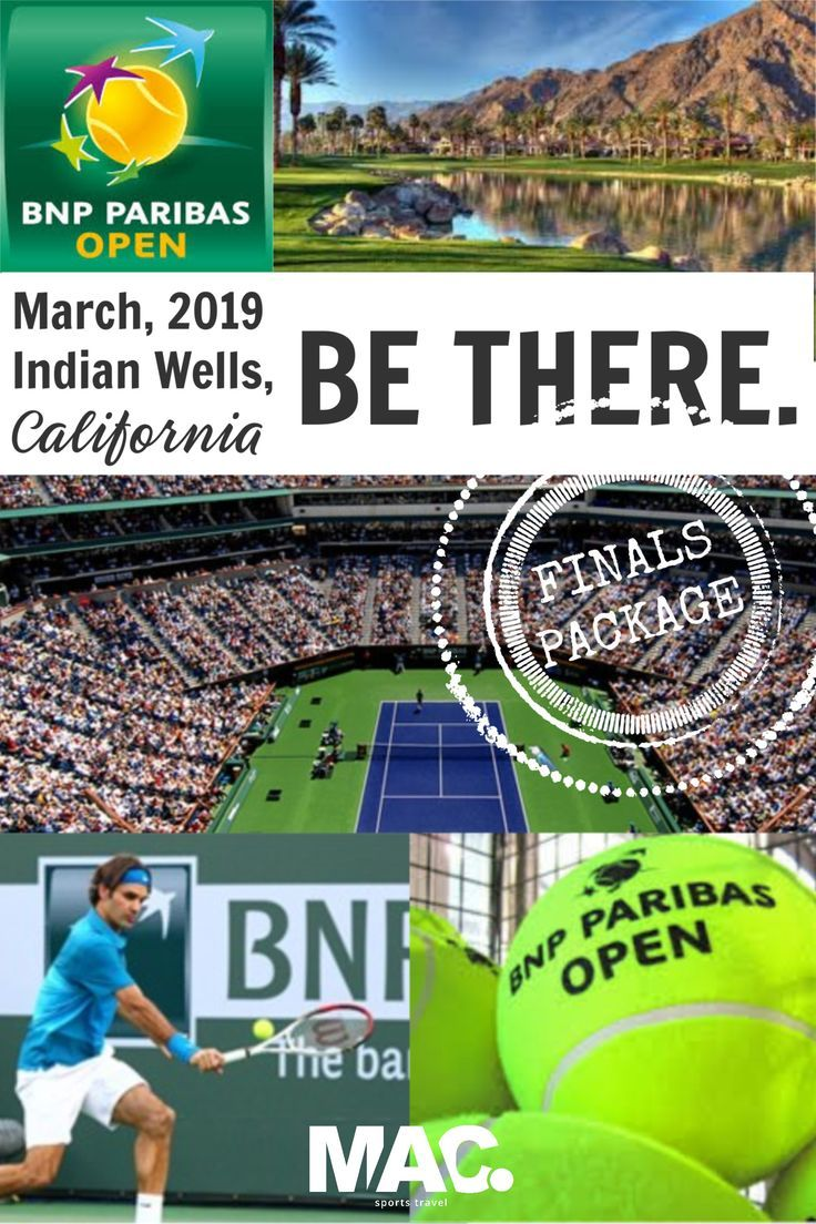 Indian Wells Finals Weekend Ticket Package March 2019