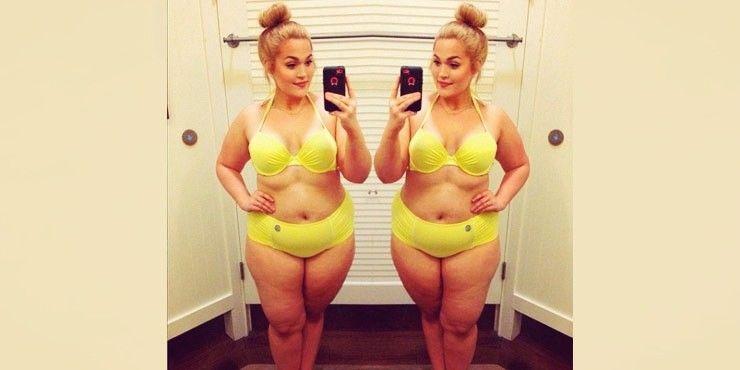 20 Mujeres que te demuestran que las chicas gorditas sí pueden usar bikini