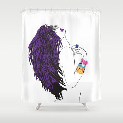 SIERRA SHOWER CURTAIN Pardonmyfro
