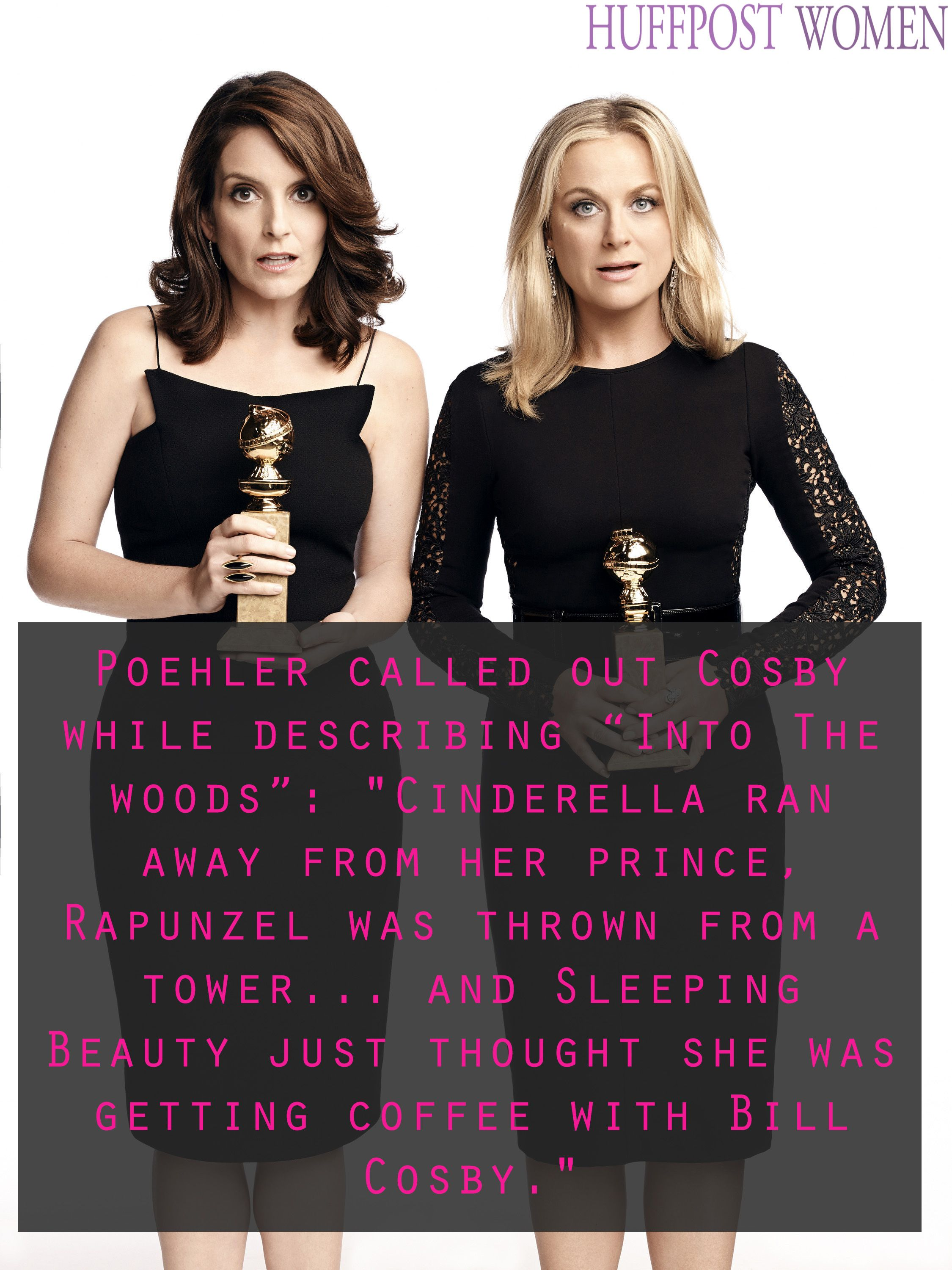 Amy and tina at the golden globes are nonstop lol worthy uc