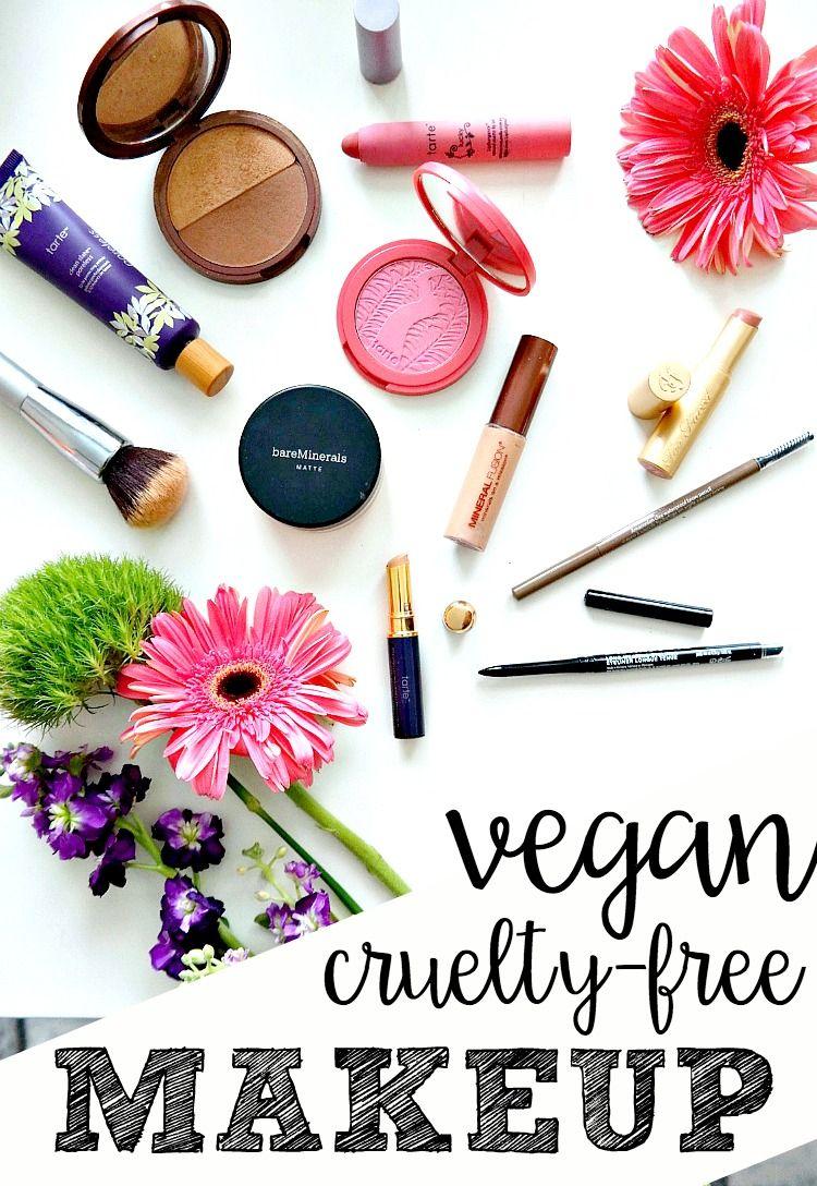 My Cruelty Free & Vegan Makeup Essentials Vegan makeup