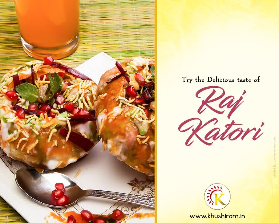 raj katori famous street food in rajasthan this stomach filling delicious chaat filled with number of stuffing chutneys resistible yummy
