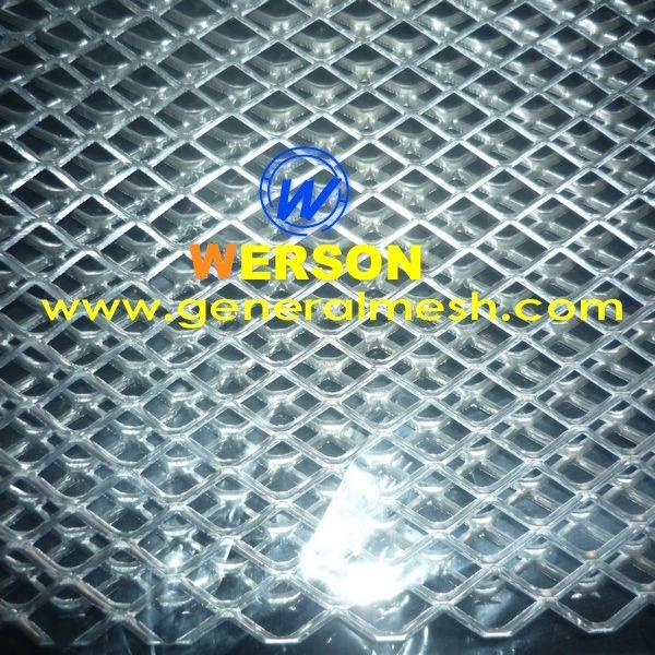 100 X 30cm Universal Aluminum Perforated Mesh Grille Aluminium Aluminum Metal Custom Grill