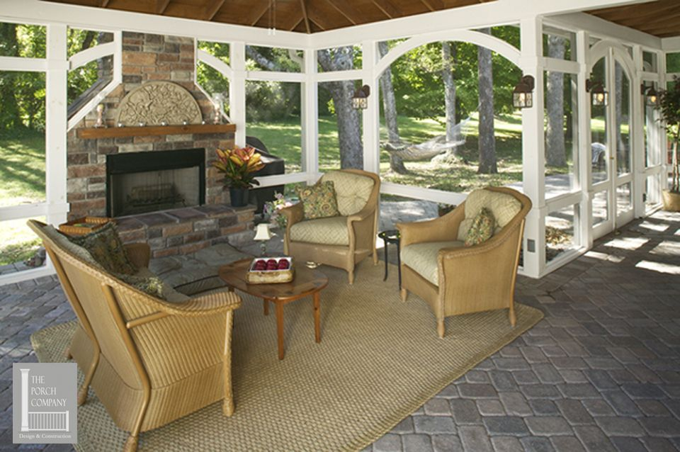 Porch flooring options Porch flooring, Screened in patio