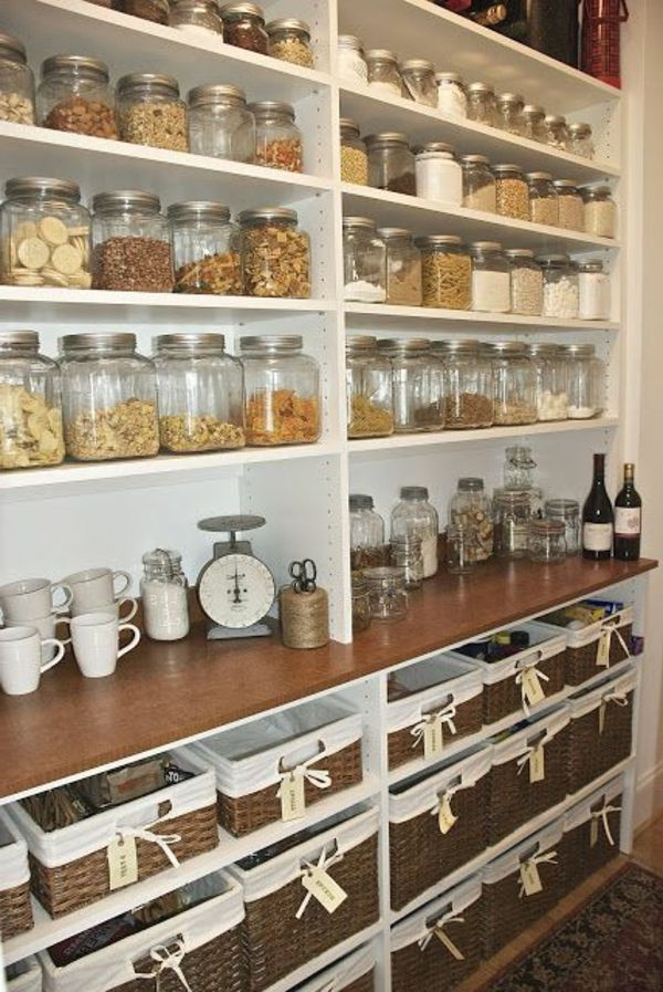 Organisieren Sie Ihre Speisekammer heute #organize