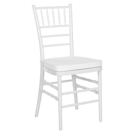 Nanette Indoor/Outdoor Side Chair in White