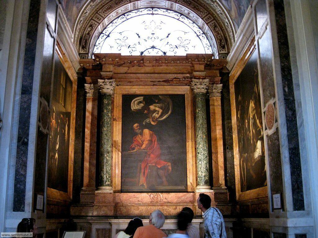 Dipinti di Caravaggio presso San Luigi dei Francesi -