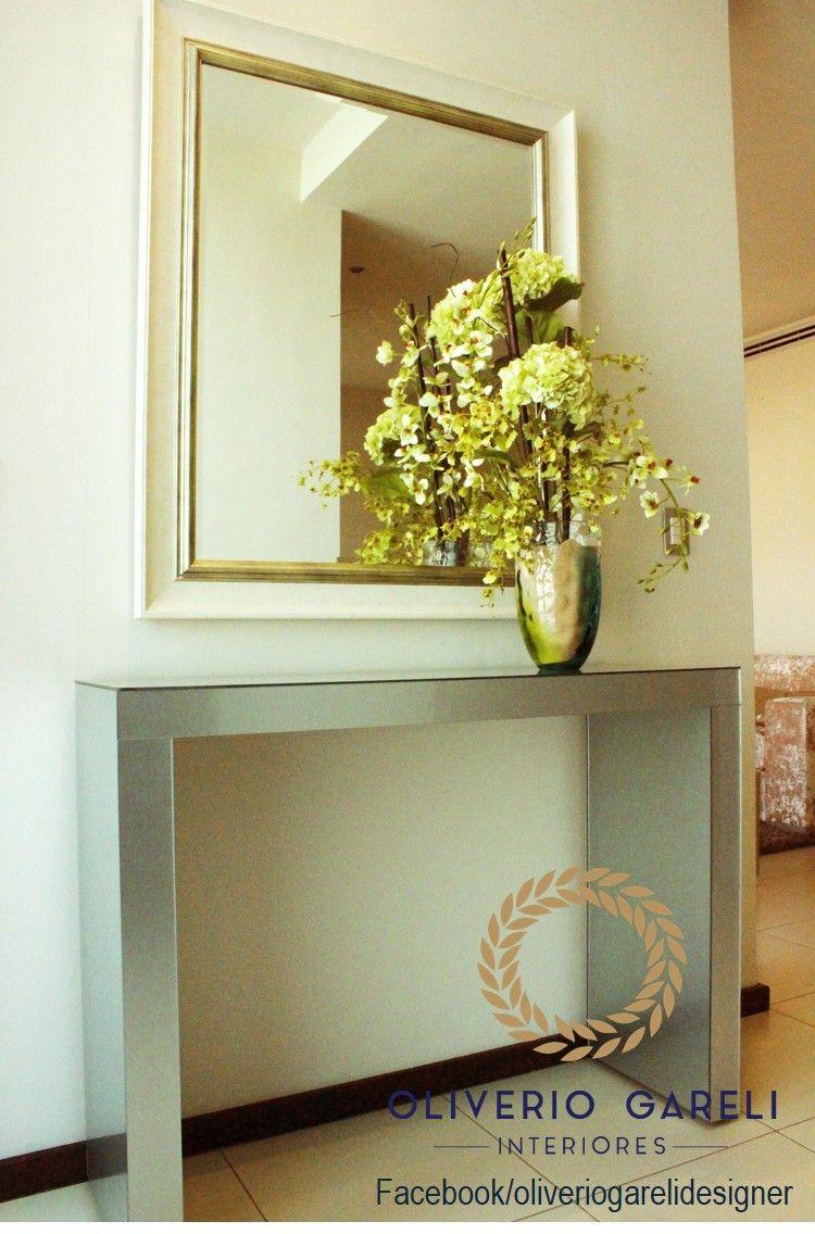 Pin De Oliverio Gareli Interiores En Recibidores Pinterest  # Muebles Gimenez Recibidores