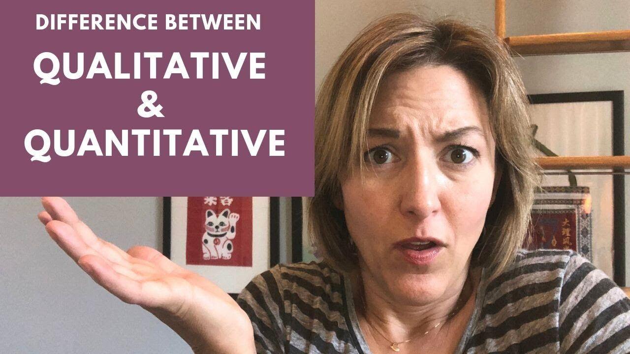 How to Pronounce QUALITATIVE & QUANTITATIVE American