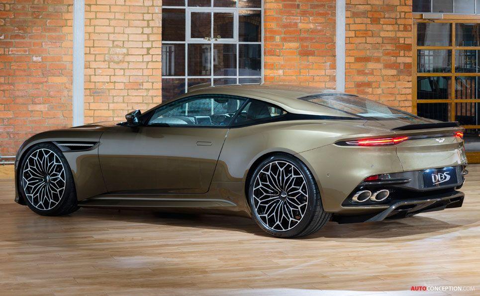 Aston Martin On Her Majesty S Secret Service Dbs Superleggera Special Edition Aston Martin Dbs Aston Martin Superleggera