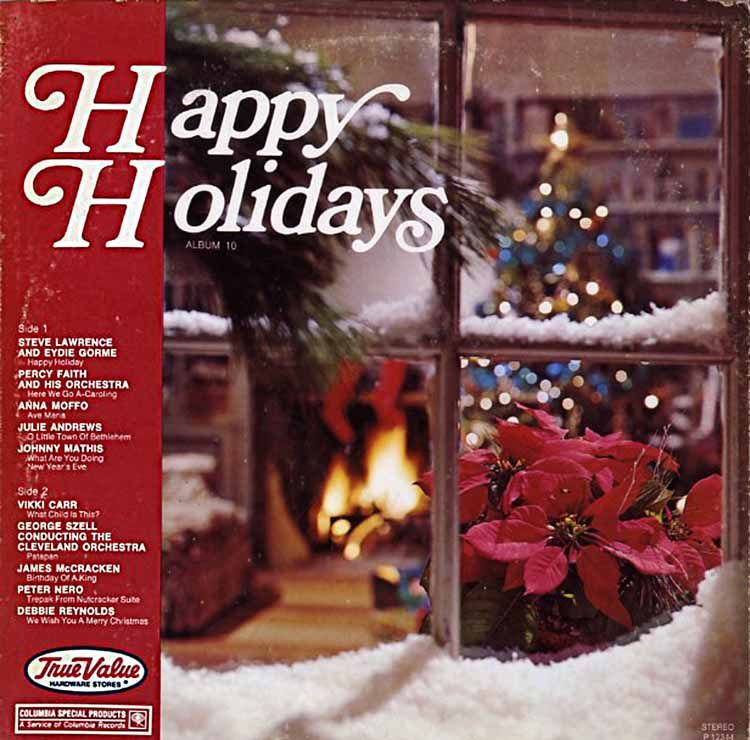 Pin On True Value Hardware Happy Holidays Christmas Records