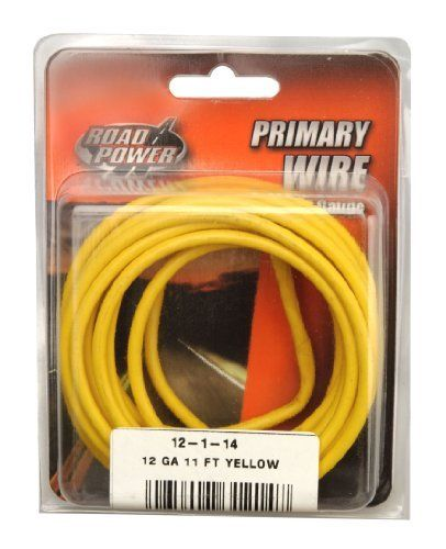 Coleman Cable 12 1 14 12 Gauge 11 Foot Automotive Copper Wire Yellow By Coleman Cable 6 13 Coleman Cable 12 1 14 Automotive Copper Wire 12 Gauge 11 Foot
