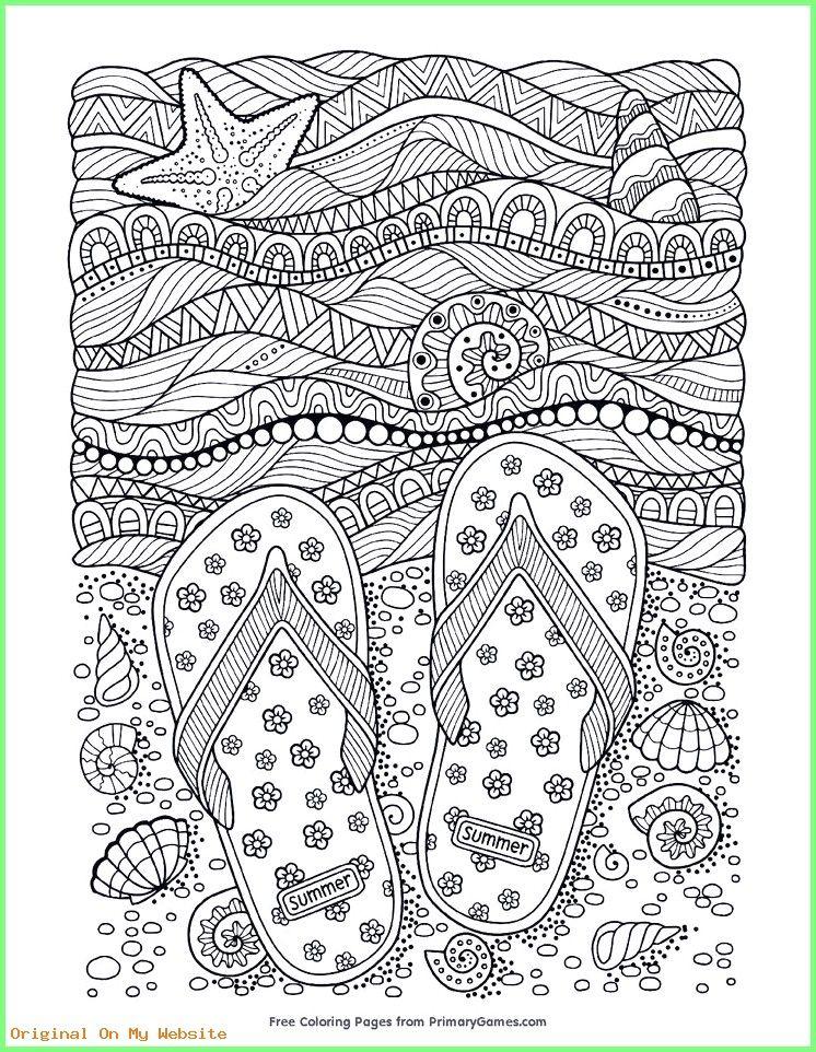Kunst Grundschule - Beach flip-flops adult coloring page sheet. - Beach flip-flops adult colo... #adultcoloringpages