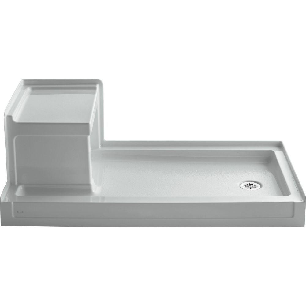 30x60 Kohler K 1976 0 Tresham White Shower Bases Efaucets Com