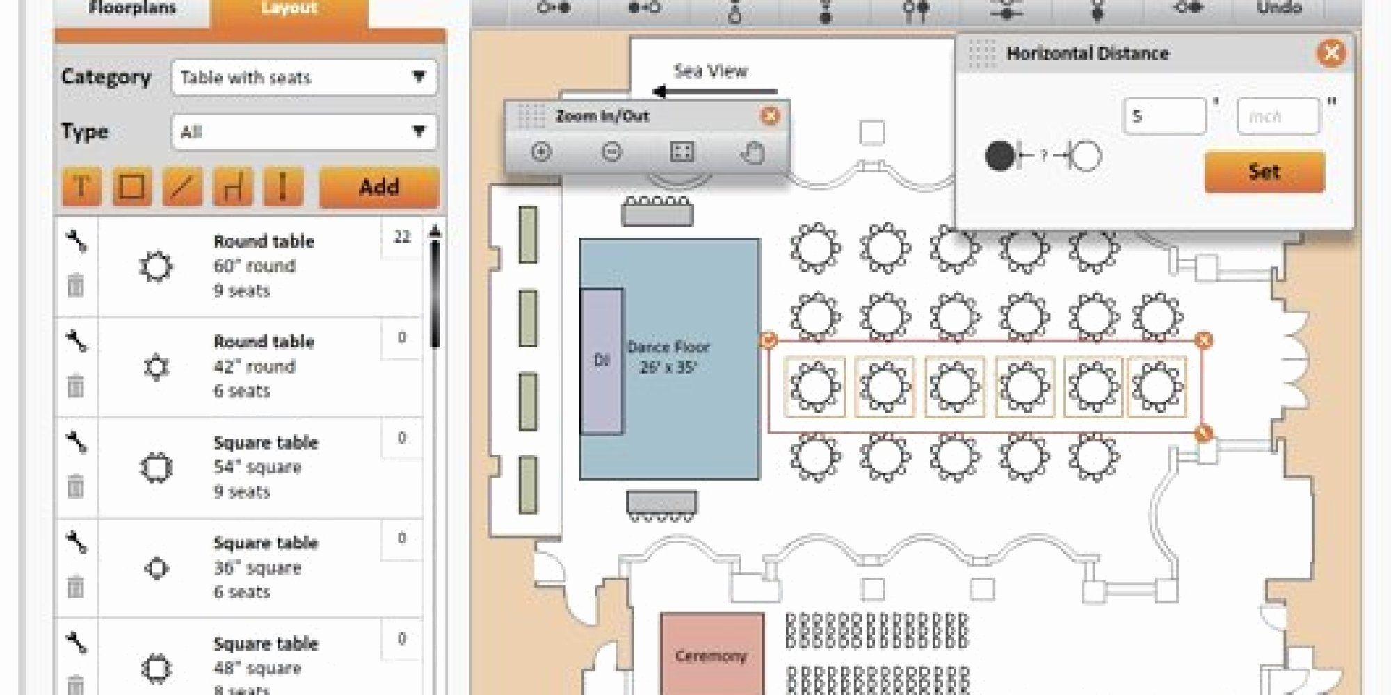 Free Wedding Floor Plan Template Awesome the Best Digital