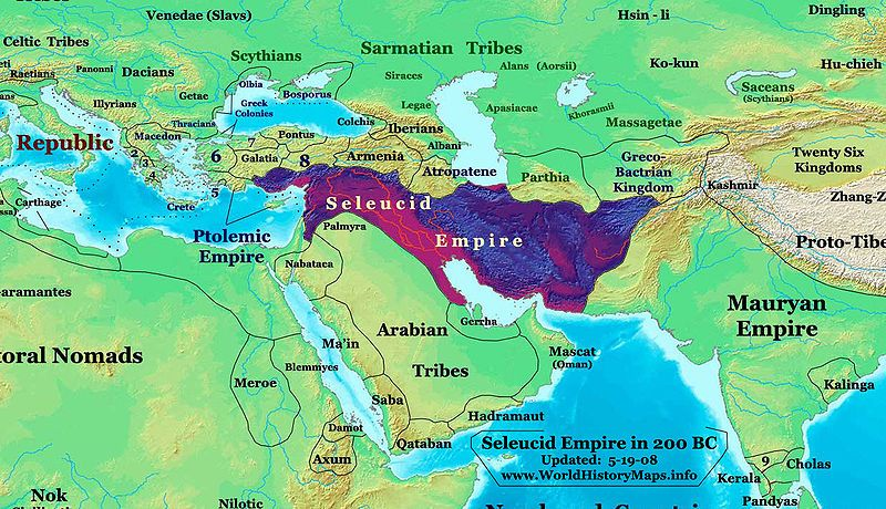 Les Seleucides Perdent A Partir De La Seconde Moitie Du Iie